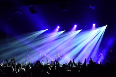 Ibrahim Maalouf faisant applaudir le public en rythme sous le Chapiteau du Cully Jazz lors de la dernire soirée de l'édition 2016