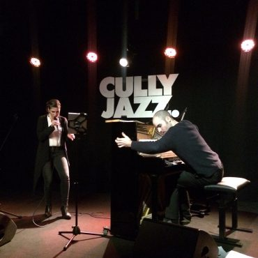 Pauline Ganty & Florian Favre en concert au Club, Cully Jazz 2016
