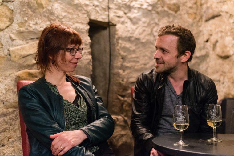 Sophie Noir et Simon Gerber au tHBBC ©Jonathan Bischoff