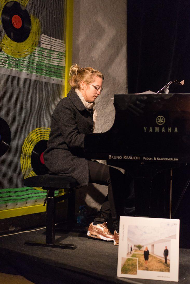 Marie Krüttli Trio au Sweet Basile ©Jonathan Bischoff