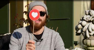 Gauthier Toux en self'interview au Cully Jazz, avec un coeur