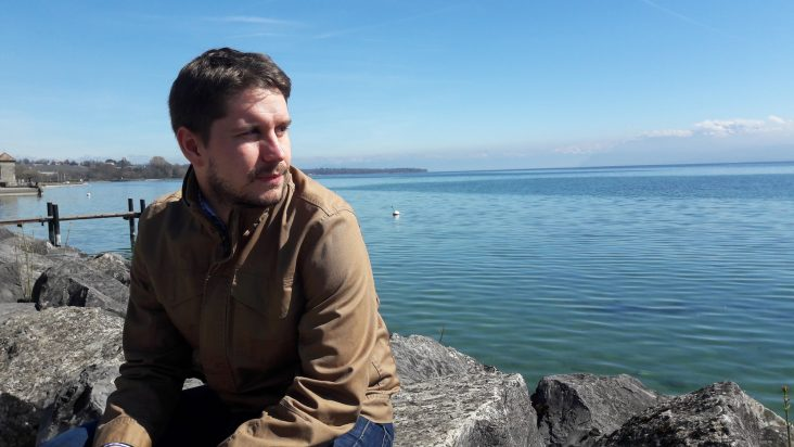 Photo de Fabe Gryphin, au bord du lac Léman