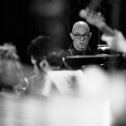 Nik Bärtsch & HEMU Jazz Orchestra, Chapiteau (c) Claude Dussez