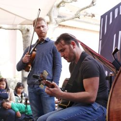Marc Crofts trio, terrasse Potterat (c) Tisa Sencur
