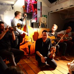 Gypsy Jazz Session, Le Venoge (c) Sébastien Bovard