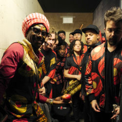 Antibalas - next step, backstage (c) Dom Smaz